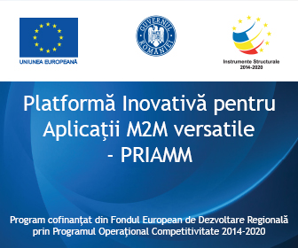 PRIAMM - Platforma Inovativa pentru Aplicatii M2M versatile